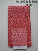 hx1149 African lace fabrics, 100% cotton lace fabric, African voile lace
