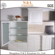china suppliers ready made Canada Project Modern Lacquer Hotel Furniture Commercial Kitchen Cabinets, kitchen chimney