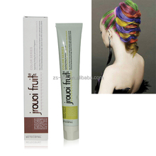 JROUOI FRUIT Professional Chemical Free Low Ammonia Hair Color Highlights Pictures