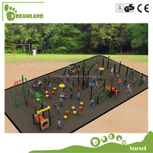 Children plastic climbing outdoor jungle gym playground equipment