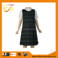 2015 factory wholesale cheap school girl costume