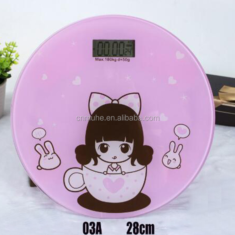 electronic weighing scale digital bathroom body fat mini scale for adult and baby