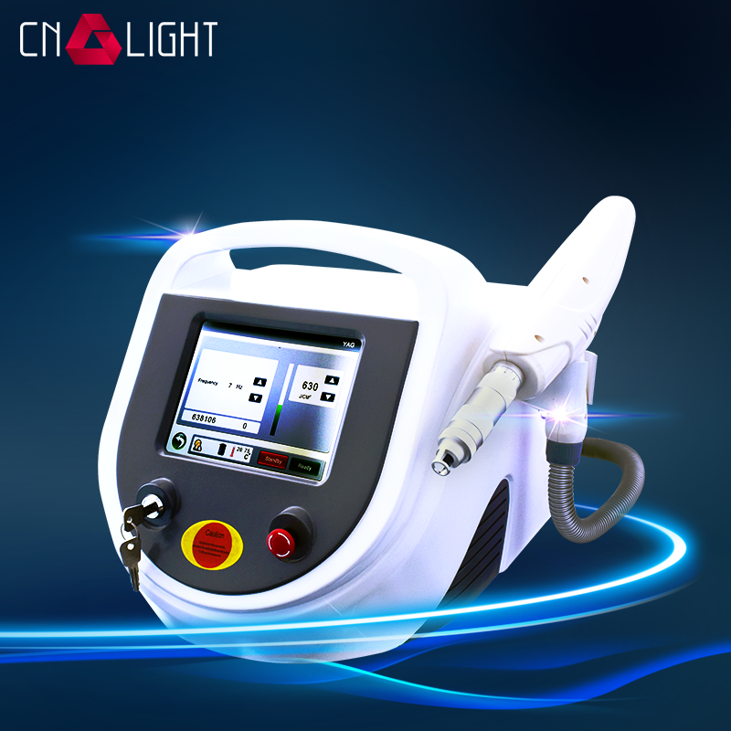 Big power q switch yag laser tattoo removal machine