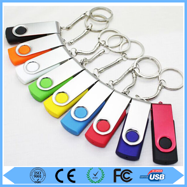 High Quality Colorful 8GB Swivel USB Flash Ddrive 2.0 8GB USB Flash Drive