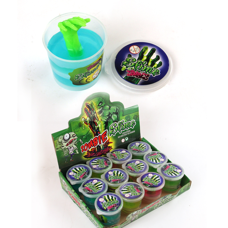 Yiwu Greateam Toys Crazy oozing Crystal Zombie Slime