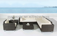 Comfortable Sectional corner sofa set furniture outdoor