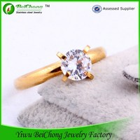 China jewelry wedding rings stainless steel nobel jewelry moroccan gold wedding diamond ring for boys
