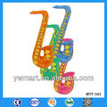 Inflatable saxophone, inflatable musical instrument inflatable saxophone
