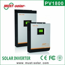 <Must Solar> PV1800 hybrid solar inverter with MPPT solar charge controller dc to ac power inverter 10000w