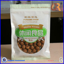 plastic bag packaged nuts and snacks /fruit and nuts packaging