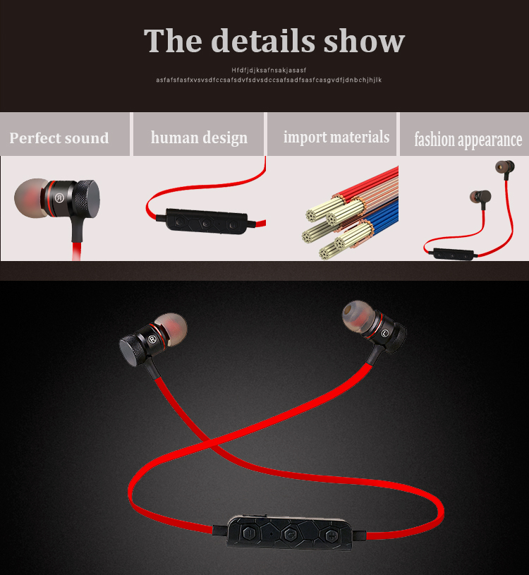 Micro rock 3.5mm oortelefoon wireless sport