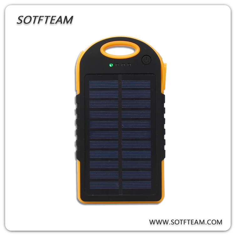 Solar Battery Charge Portable Solar Phone Mobile Power 8000mAh Special