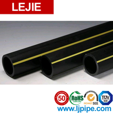Hdpe 3 inch pe100 sdr21 pipe underground gas line of production