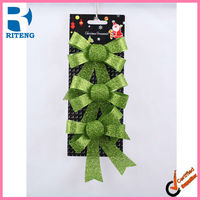 2013 new Christmas decoration bowknot for tree Chrismats Items indoor christmas decoration