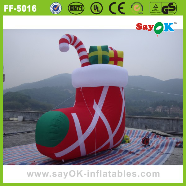 Funny custom christmas tree inflatable decoration outdoor