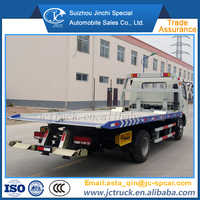 2015 Brand New 6ton sliding rotator wrecker tow truck on sale