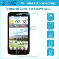 Best Quality Mobile Phone Screen Protector 0.3Mm 9H Premium Tempered Glass For Lenovo A850