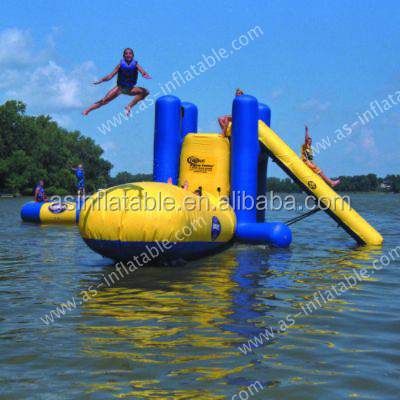 2016 Inflatable Floating Water Trampoline For Inflatable Sea Water Park Games