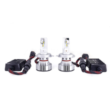 H4 Car Headlight 72w 12000LM LED Auto light High speed ball fan design H4 Automotive LED Bulb
