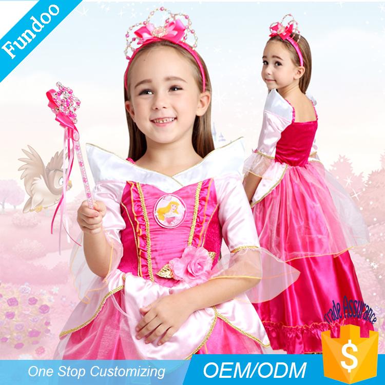 venta al por mayor vestido de princesa de hadas dulce traje de la muchacha del cabrito