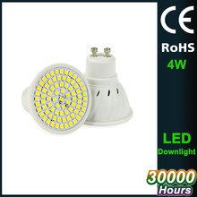 ce rohs listed non dimmable 5W GU10 spotlight 48pcs smd3528 spots led