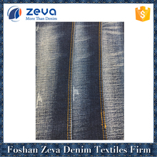 High quality rayon cotton polyester spandex denim fabric for woman jeans