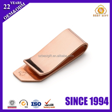Best selling items Blank Smart Brass Metal money clip