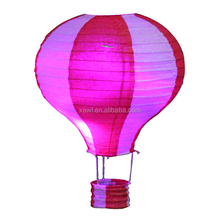 Wholesale Cheap White Hot Air Balloon Paper Lanterns for shopping mall decoration JLS02-2