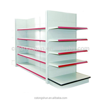 Good Quality Metal Supermarket Gondola Shelf