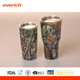 Powder coated or spray paint 20oz Stainless Steel Tumbler