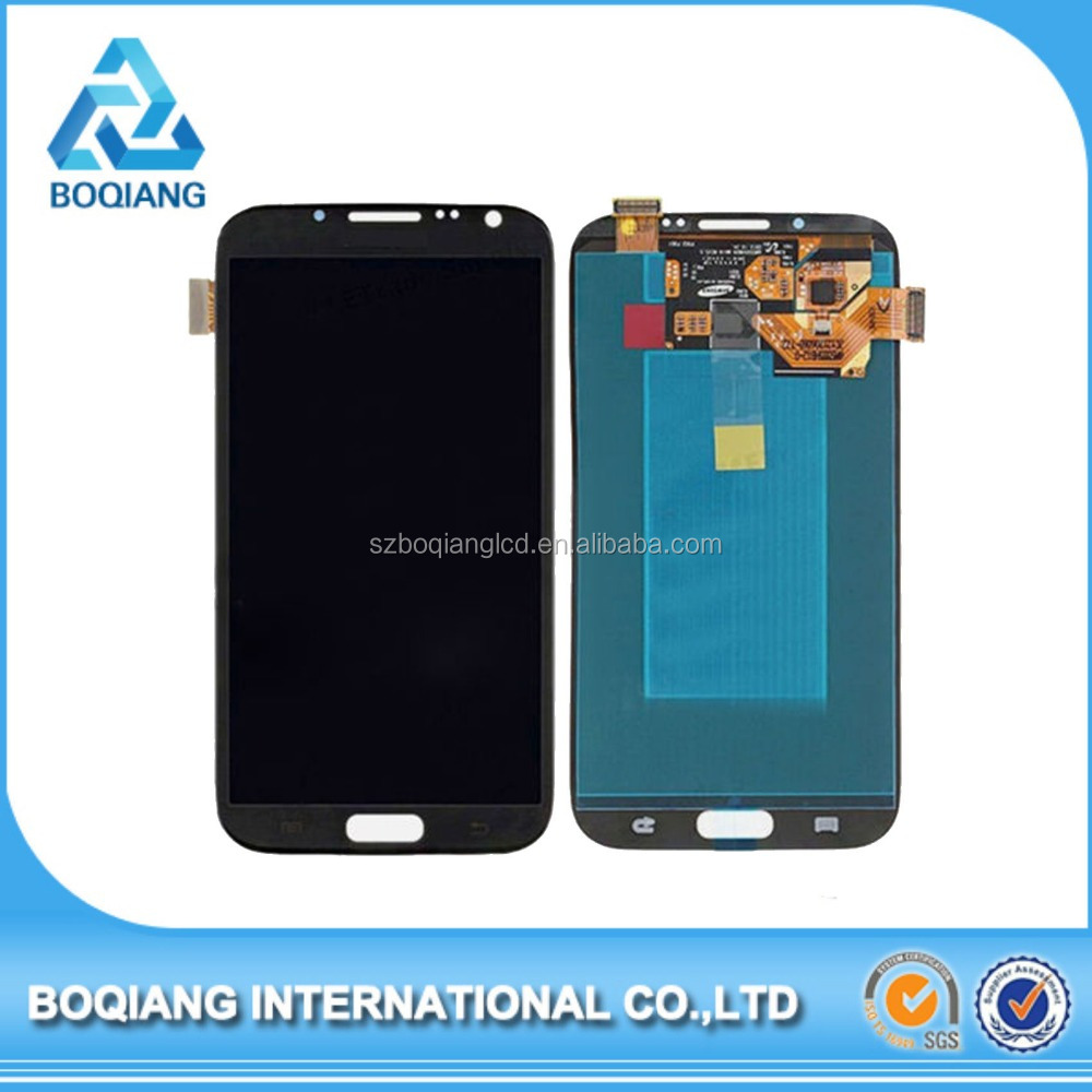 Wholesale touch screen digitizer display lcd assembly for samsung galaxy note 2 n7100
