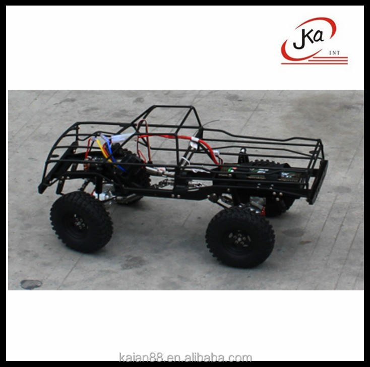 Cheap price 1:10 D90 Aluminum alloy rc car chassis used for Rock crawler, Rovan, Tamiya