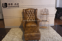 Air Leather sofa chair indoor furniture leather sofa chair A15-C