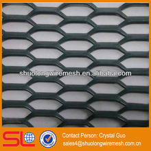 manufacturer and hot sale galvanized flatten expanded wire mesh