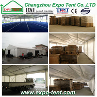 Colorful crazy Selling rent tent warehouse china
