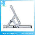 Stainless steel friction stay hinges for aluminum sliding window