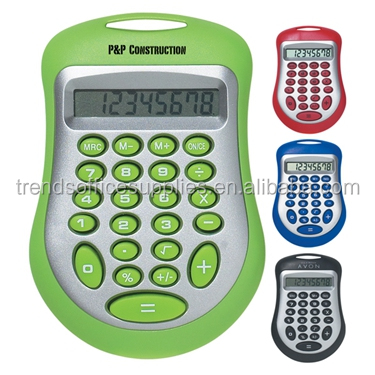 novelty cheap mini Budget Price 8 digits pocket Expo calculator for advertising