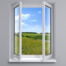 plastic upvc casement inward opening casement window pane with lowes window grids