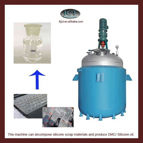 machine for Pyrolysising liquid silicone rubber compound
