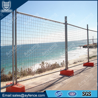 AS4687 Galvanized Welded Mesh Temporary Fence for Construction Building Site Outdoor Event