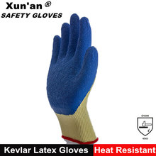 Thick Cotton Knit Gloves Firm Grip Rubber Dots