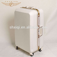 High Quality ABS White Travel Trolley