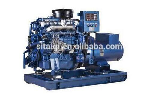 Weichai Marine Gensets of WP2/WP3 Series used for small fishing boats
