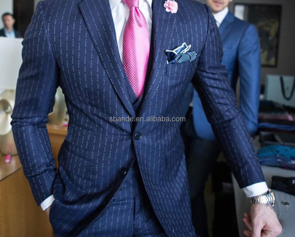 Fuck you pinstripe Conor Mcgregor same suit top quality tailor made suit, new fashion custom made suit for men