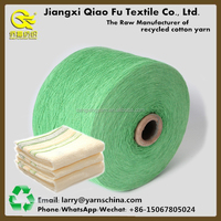 Dyed Polyester Recycled Cotton Blended Polyester Yarn Open End Yarn Weaving Towel