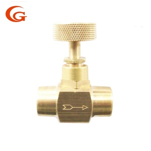 brass needle valve industrial use chinese manufacturer