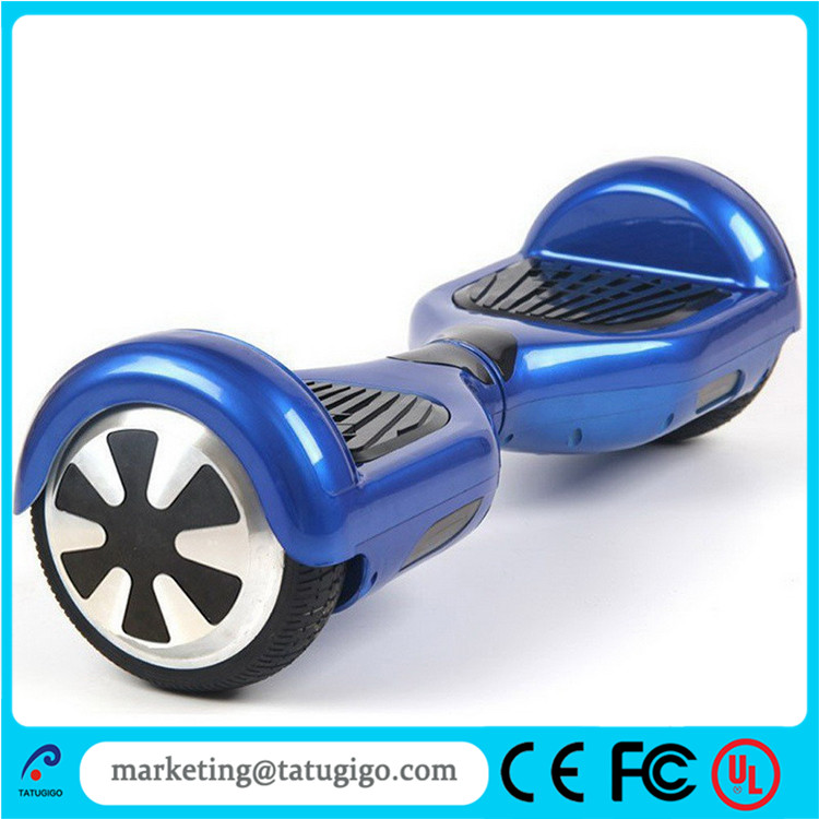 Standard Shenzhen 6.5 inch 350W two wheel smart electric self balancing scooter