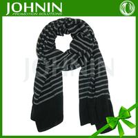 2017 New arrival warmth fashion men striped knit scarf