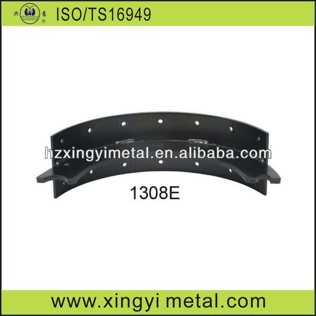 High quality bare brake shoes for Heavy duty truck 1308E