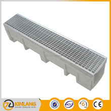 E300 scupper drainage stainless steel grid ditch grateings